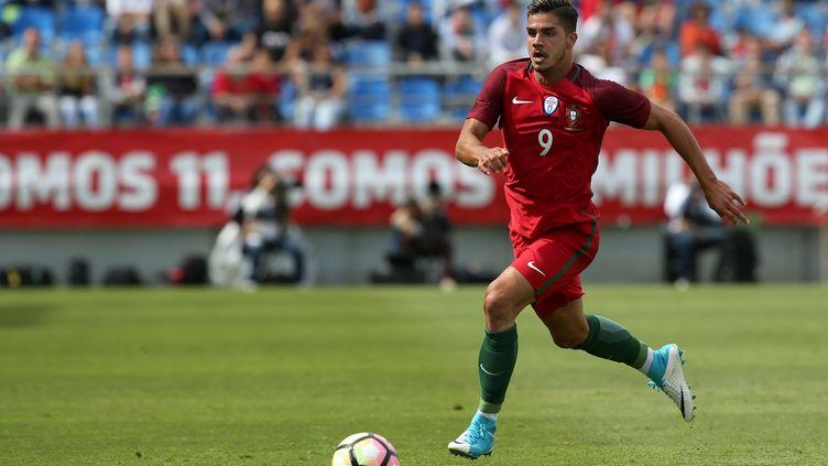 L'attaquant André Silva sous le maillot du Portugal. (PEDRO FIUZA / NURPHOTO)