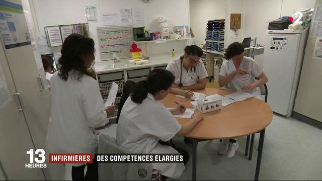 Métiers : des compétences élargies pour les infirmiers