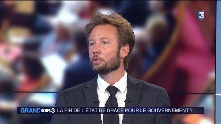 Le socialiste Boris Vallaud (France 3)