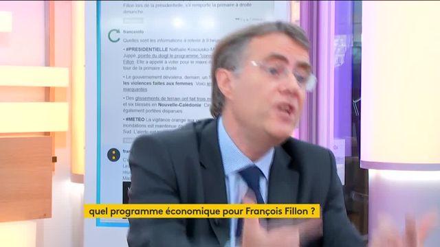 """Invité de Jean-Paul Chapel mardi 22 novembre dans """":L'éco"""", Serge Grouard, député LR et soutien de François Fillon, détaille le programme économique du candidat républicain."""