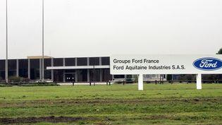 L'usine Ford deBlanquefort près de Bordeaux (Gironde), le18 octobre 2005. (DERRICK CEYRAC / AFP)
