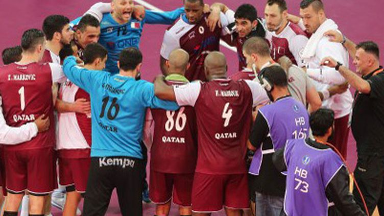 La joie de l'équipe du Qatar (KARIM JAAFAR / AL-WATAN DOHA)