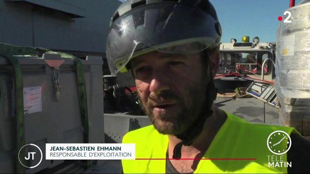 Strasbourg : pour diminuer la pollution, les marchandises circulent par voie fluviale