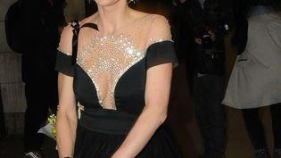 Sarah Harding,ex-chanteuse du groupe de pop britannique Girls Aloud,National Film Awards, à Londres le 28 mars 2018 (SHUTTERSTOCK/SIPA / REX)