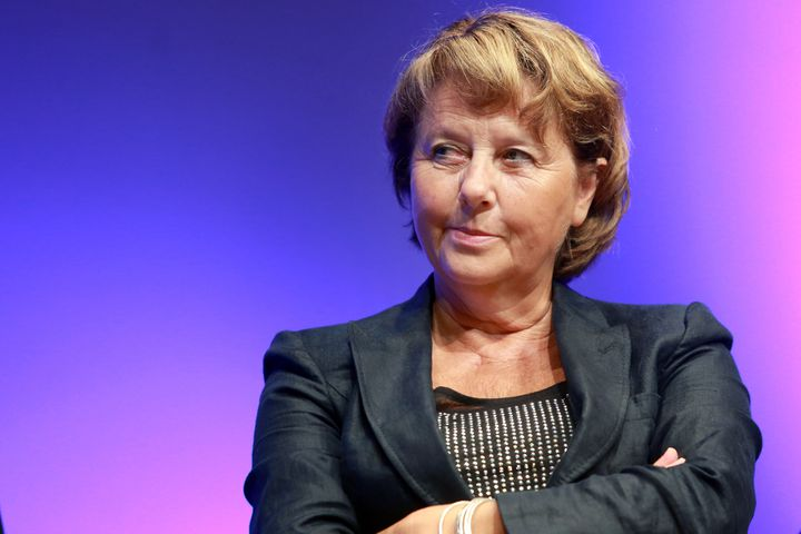 La présidente de la commission de la défense de l'Assemblée nationale, Patricia Adam, le 9 septembre 2014 lors d'un colloque à Bordeaux. (NICOLAS TUCAT / AFP)