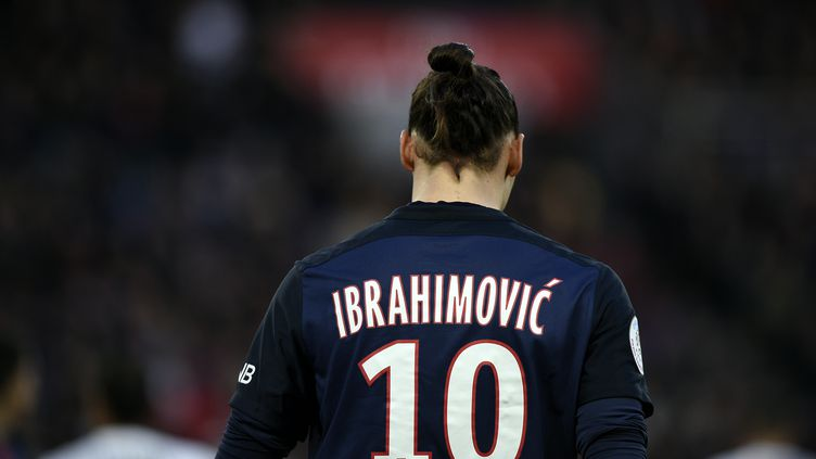 Le joueur du PSG Zlatan Ibrahimovic (FRANCK FIFE / AFP)