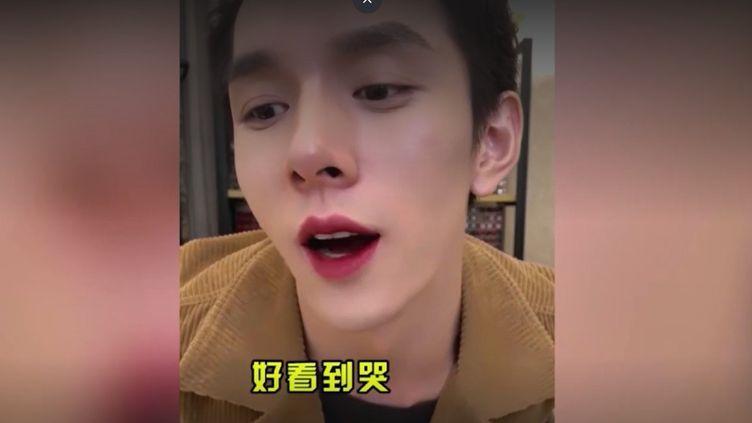 Capture d'écran d'une vidéo de l'influenceur chinois Li Jiaqi. (LI JIAQI)