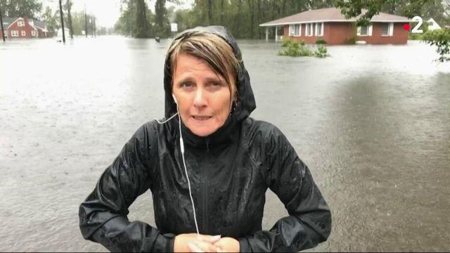 Ouragan Florence : la Caroline du Nord sous les eaux