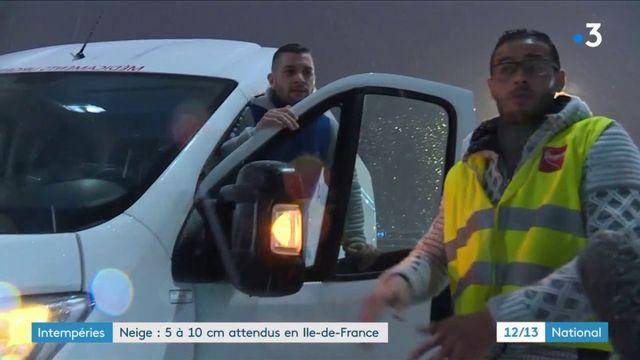 Intempéries : 5 à 10 centimètres de neige attendus en Île-de-France