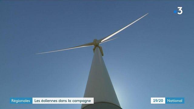 Régionales : les éoliennes, un véritable enjeu de campagne électorale