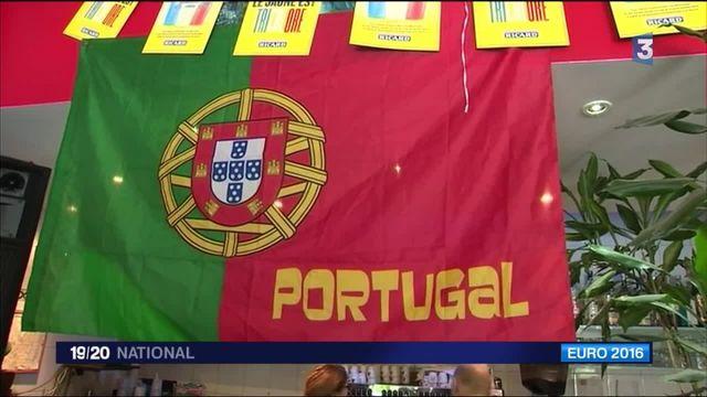 Euro 2016 : les Portugais en liesse et les Français moroses