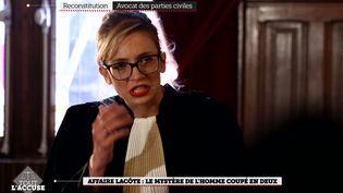 """Capture d'écran """"Tout l'accuse"""". (C8)"""