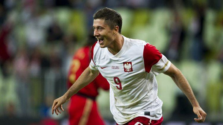 Robert Lewandowski et la Pologne voudront réussir dans leur Euro (JOHN MACDOUGALL / AFP)