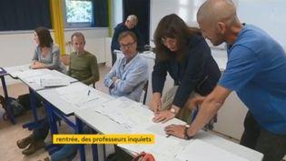 profs inquiets réforme du bac (FRANCEINFO)