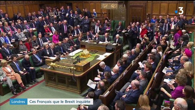 Londres : les Français inquiets du Brexit