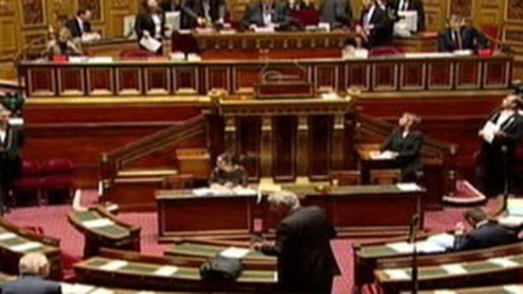 Débat au Sénat sur le statut de la Poste (© France 2)