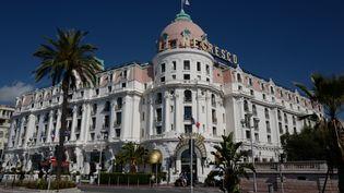 L'hôtel Le Negresco à Nice le19 juin 2020. (VALERY HACHE / AFP)