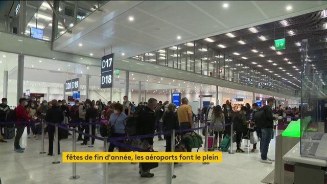 Transport : avant les fêtes de fin d'année, les aéroports font le plein