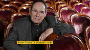 Robert Hossein (FRANCEINFO)