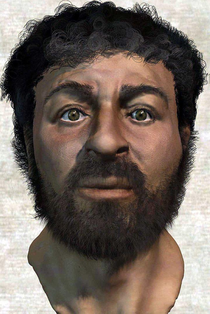 Le possible visage de Jésus selon des chercheurs britanniques  (BBC / SIPA)