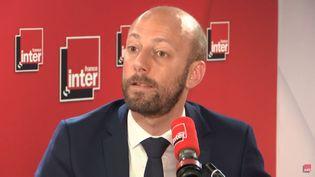 Stanislas Guerini, délégué général de La République en Marche (LREM), invité de France Inter mercredi 19 juin. (France Inter)