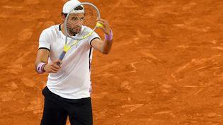 L'Italien Matteo Berrettini est l'une des figures de proue de la renaissance tennistique italienne (OSCAR DEL POZO / AFP)