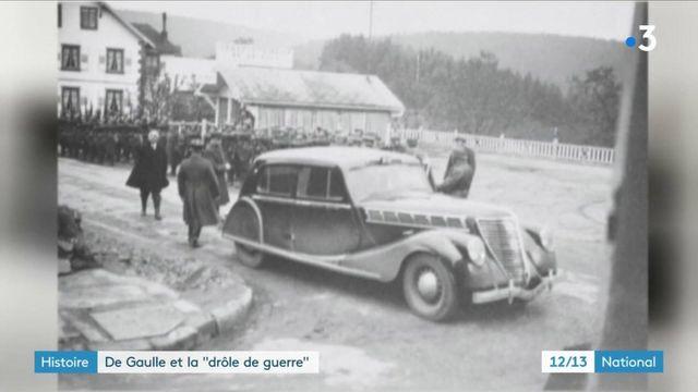 """Histoire : de Gaulle et la """"drôle de guerre"""""""
