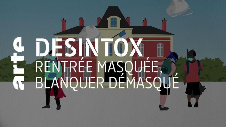Désintox. La gratuité des masques à l'école est pratiquée dans d'autres pays et même en France (ARTE/2P2L)