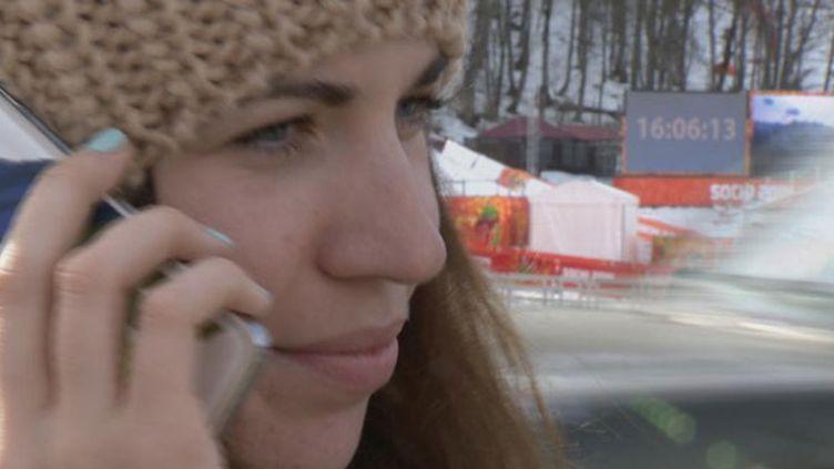 La skieuse ukrainienne Bogdana Matsotska