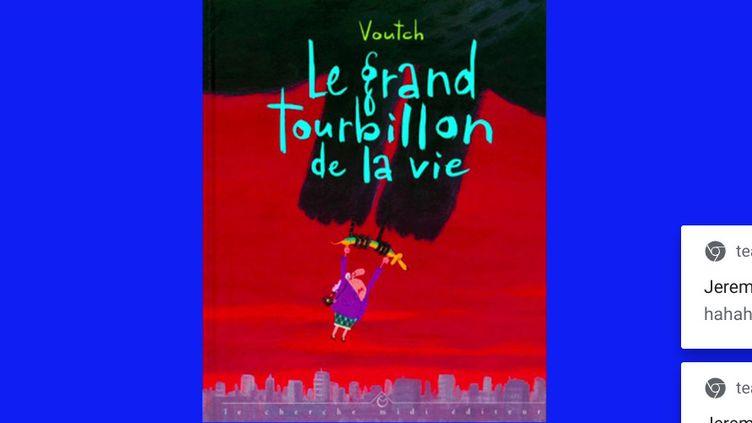 """Bande dessinée : entrez dans """"Le Grand Tourbillon de la vie"""" de Voutch (Capture d'écran franceinfo)"""