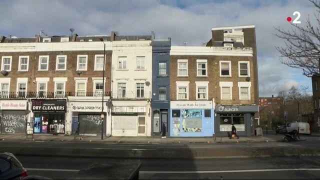Immobilier : la maison la plus étroite de Londres en vente à prix d'or
