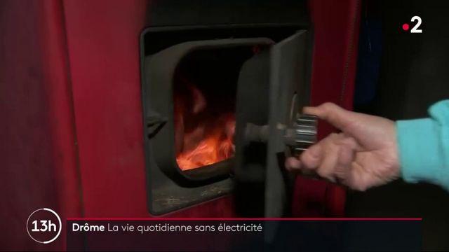 Neige : les habitants de Claveyson toujours privés d'électricité