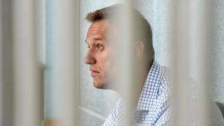 Alexeï Navalny, le 24 juin 2019. (VASILY MAXIMOV / AFP)