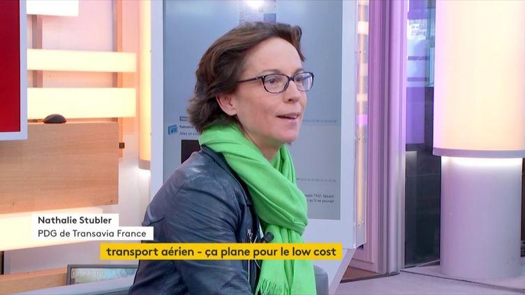 Nathalie Stubler, PDG de Transavia France : « La recette : c'est l'optimisation des moyens de production » (FRANCEINFO)