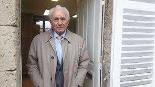 Paul Girod a été élu pour la première fois maire de Droizy (Aisne) en 1958. (SEBASTIEN BAER / RADIO FRANCE)