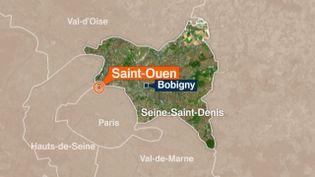 Un homme affirme avoir été agressé, samedi 25 avril 2015, à Saint-Ouen (Seine-Saint-Denis) à la sortie d'une synagogue. (FRANCE 3 PARIS ILE-DE-FRANCE)