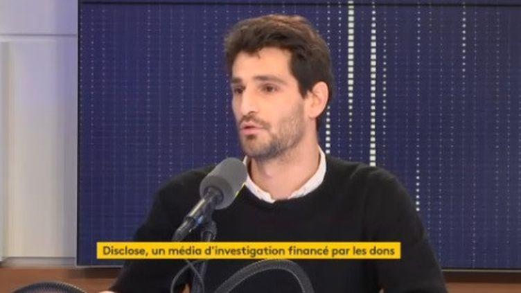 Disclose, un média d'investigation financé par les dons. (FRANCEINFO / RADIOFRANCE)