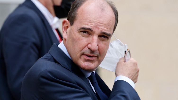 Le Premier ministre Jean Castex, le 30 juin 2021. (LUDOVIC MARIN / AFP)