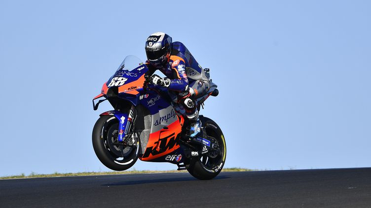 Le Portugais Miguel Oliveira (KTM) (GIGI SOLDANO / GIGI SOLDANO)