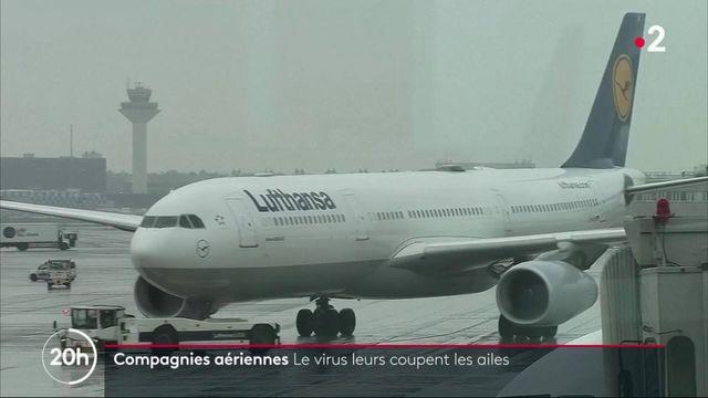 Covid-19 : le virus coupe les ailes des avions