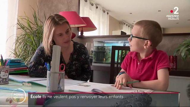 Déconfinement : des parents refusent de renvoyer leurs enfants à l'école