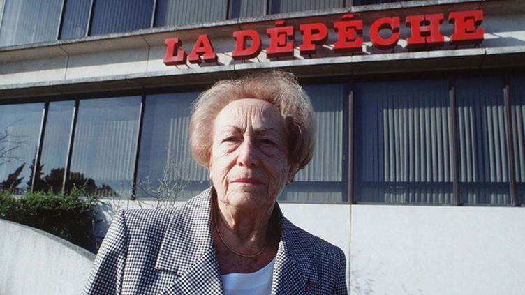 (Evelyne Baylet avait été la présidente emblématique de la Dépêche du Midi © SIPA)