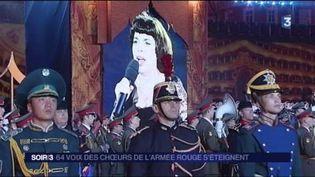 Mireille Mathieu avec les choeurs de l'Armée rouge (FRANCE 3)