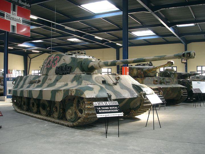 Un Panzer Tigre Royal au musée des Blindés de Saumur (Maine-et-Loire). (PENCROFF / FLICKR)