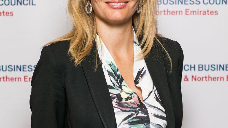 """Agnès Lopez Cruz à Dubaï :""""Pour qu'il y ait relance, il faut d'abord que les flux aériens, de passagers et de marchandises, repartent. La remontée du prix du baril de pétrole est aussi une composante"""" (THOMAS SAITO)"""
