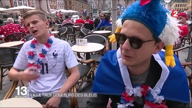 Euro : Lille aux couleurs de Bleus