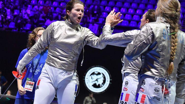 23 juillet 2019. Mondiaux. L'équipe de France remporte son quart de finale face à l'Ukraine. (Augusto Bizzi)