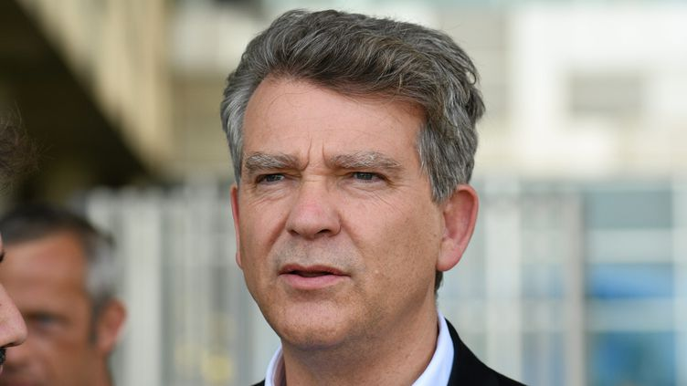 L'ancien ministre du Redressement productif Arnaud Montebourg à Montpellier (Hérault), le 2 juillet 2021. (MAXPPP)