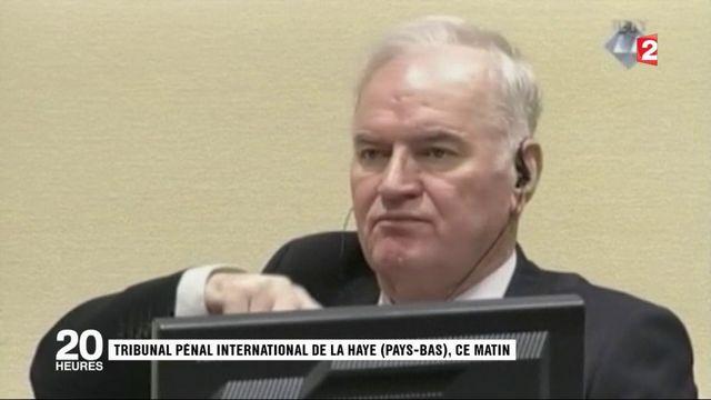 """Condamnation de Ratko Mladic : le """"Boucher des Balkans"""" crie sa colère"""
