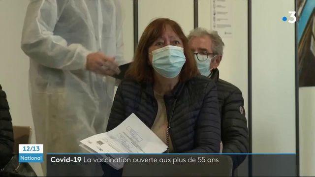 Covid-19 : les plus de 55 ans peuvent se faire vacciner en France
